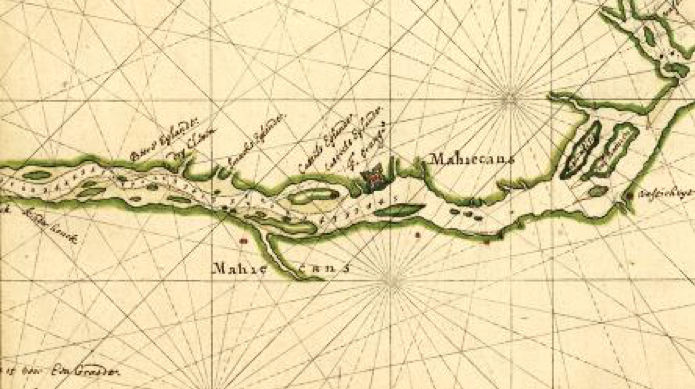 A 1632 map and numerous Dutch documents and letters refer to Papsickene's Island.